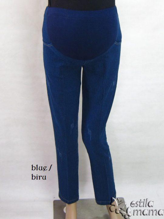 M77172 gb1 celana hamil pjg biru