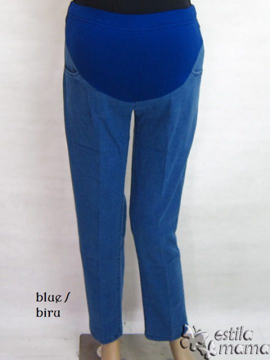 M77174 gb1 celana hamil pjg biru