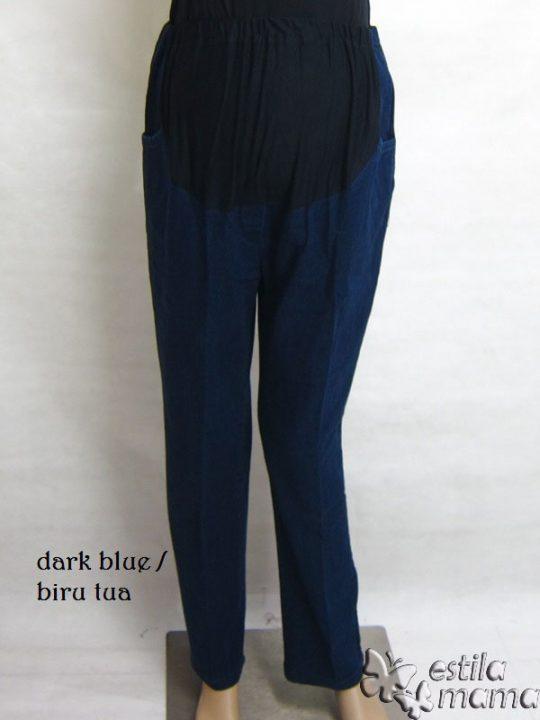 M77177 gb1 celana hamil pjg biru tua