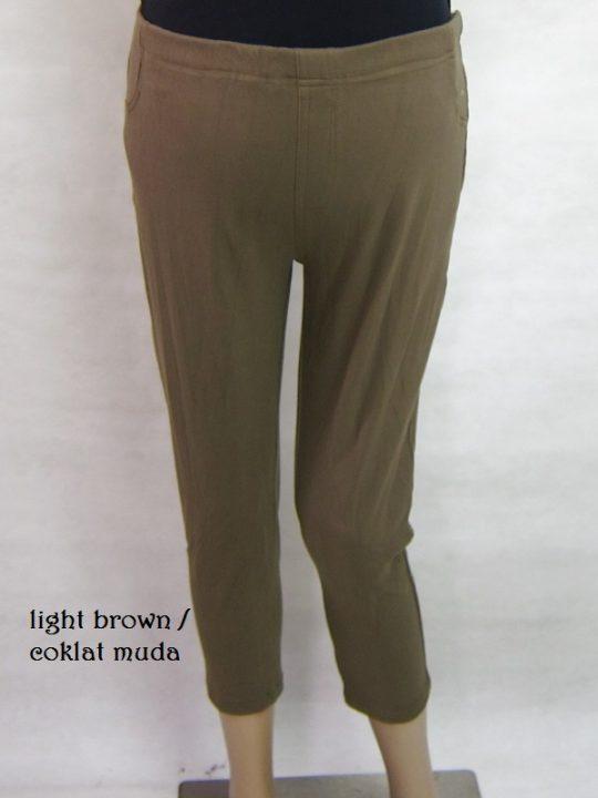 M8627 gb4 legging hamil pdk coklat muda