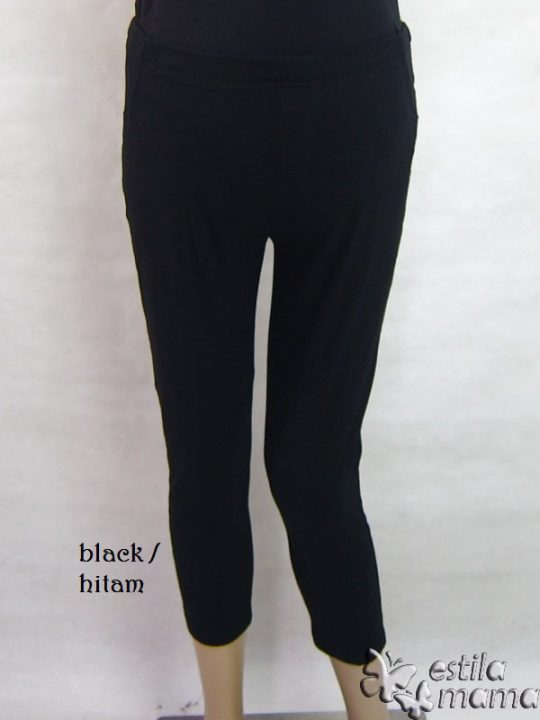 M8627 gb5 legging hamil pdk hitam