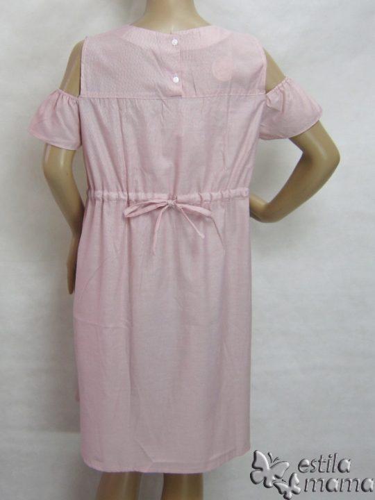 R34196 gb4 dress hamil menyusui lgn pdk pink