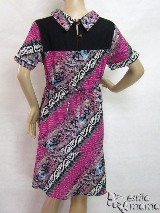 R34200 gb4 dress hamil menyusui lgn pdk magenta