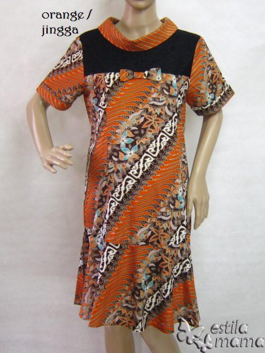 R34200 gb7 dress hamil menyusui lgn pdk jingga