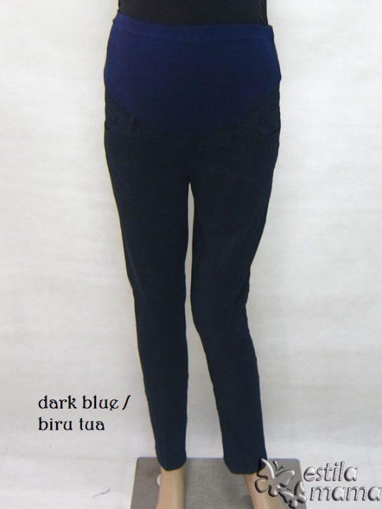 M7792 gb1 celana hamil pjg biru tua