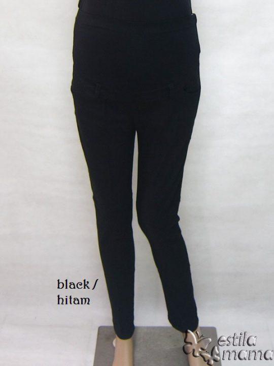M7792 gb6 celana hamil pjg hitam