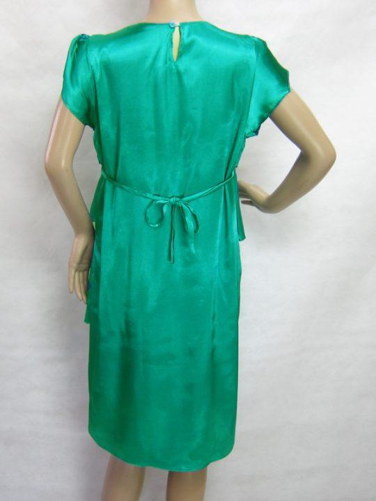 R3488 gb4 dress hamil menyusui lgn pdk hijau