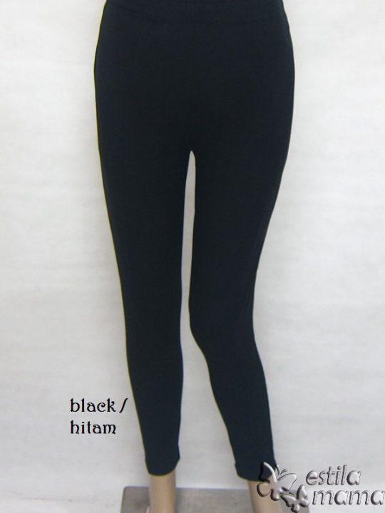 M8701 gb1 legging hamil pjg hitam