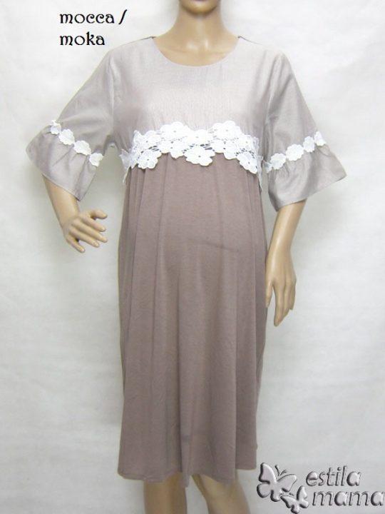 R34222 gb1 dress hamil menyusui lgn pdk moka