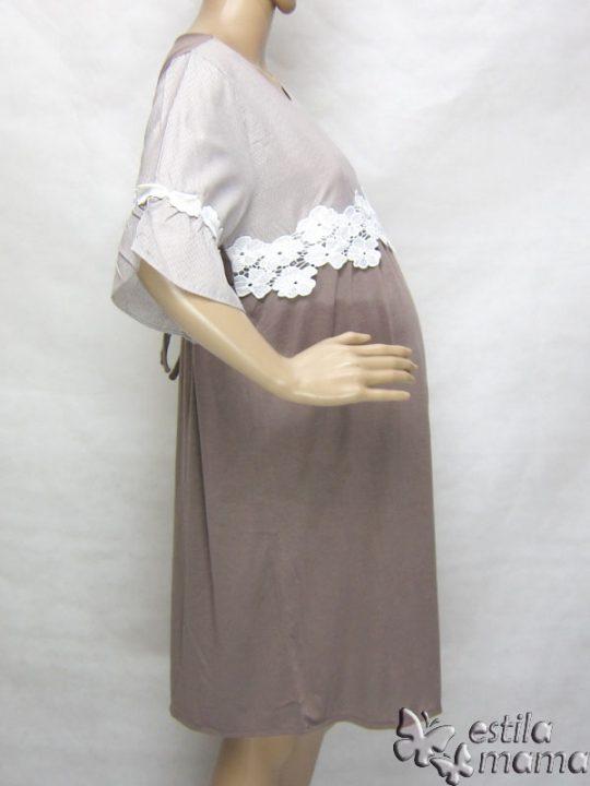 R34222 gb3 dress hamil menyusui lgn pdk moka