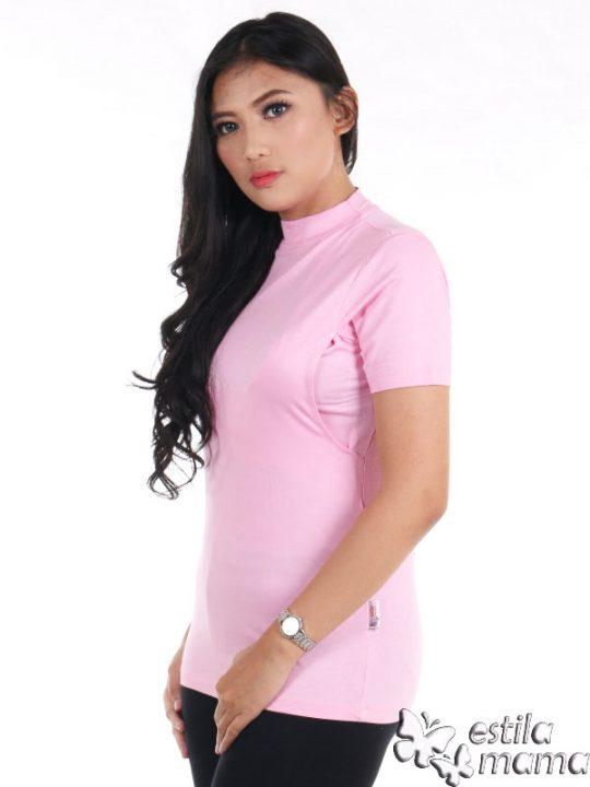 R0414 pink muda gb2 kaos menyusui lgn pdk