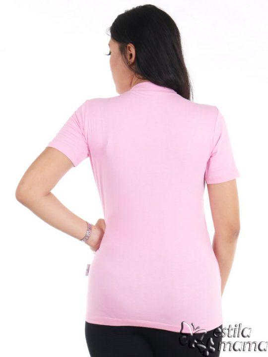 R0414 pink muda gb4 kaos menyusui lgn pdk