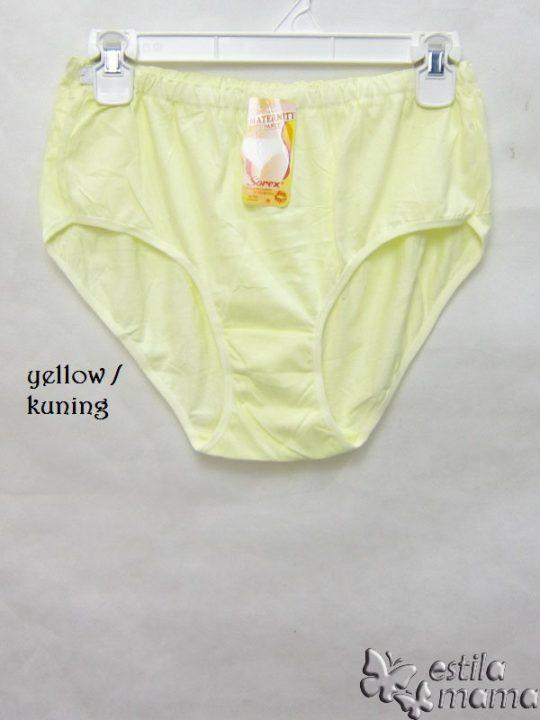 M0118 gb1 celana dalam hamil kuning
