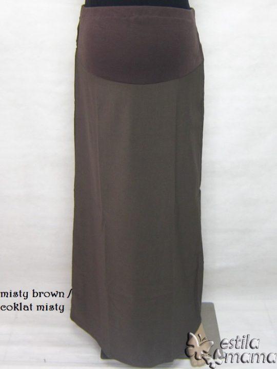 M4712 gb rok hamil panjang coklat misty