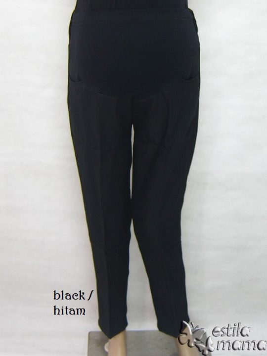 M77179 gb4 celana hamil panjang hitam