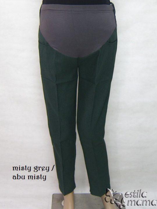 M77179 gb6 celana hamil panjang abu misty