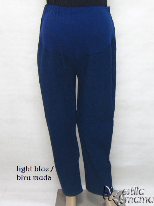 M77180 gb1 celana hamil panjang biru muda