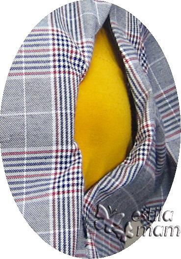R25164 gb2 baju hamil menyusui lgn pjg hitam