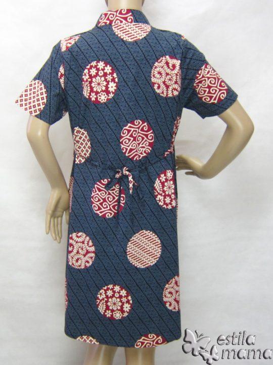 R34249 gb4 dress hamil menyusui lgn pdk abu