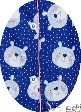 R9784 gb1b daster menyusui jumbo lgn pdk biru