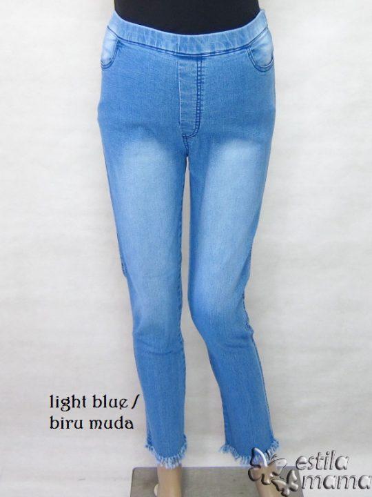 M77181 gb1 celana hamil panjang biru muda