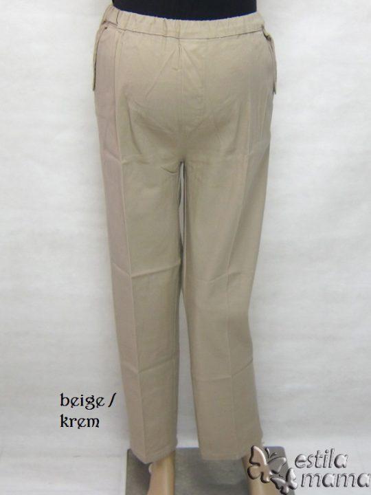 M77182 gb1 celana hamil panjang krem