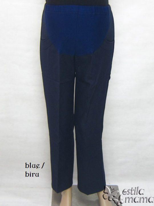 M77183 gb1 celana hamil panjang biru
