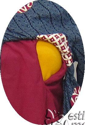 R25167 gb2 baju hamil menyusui lgn pjg abu