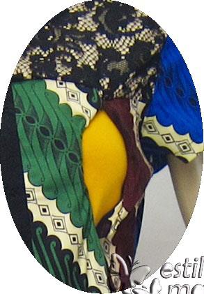 R34253 gb2 dress hamil menyusui lgn pdk biru