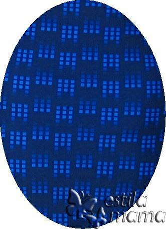 M0251 biru kotak-kotak gb1b baju renang hamil