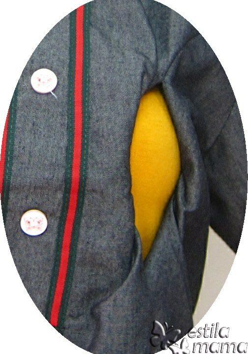 R34271 gb2 dress hamil menyusui lgn pdk salur marun