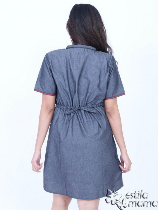 R34271 gb4 dress hamil menyusui lgn pdk marun